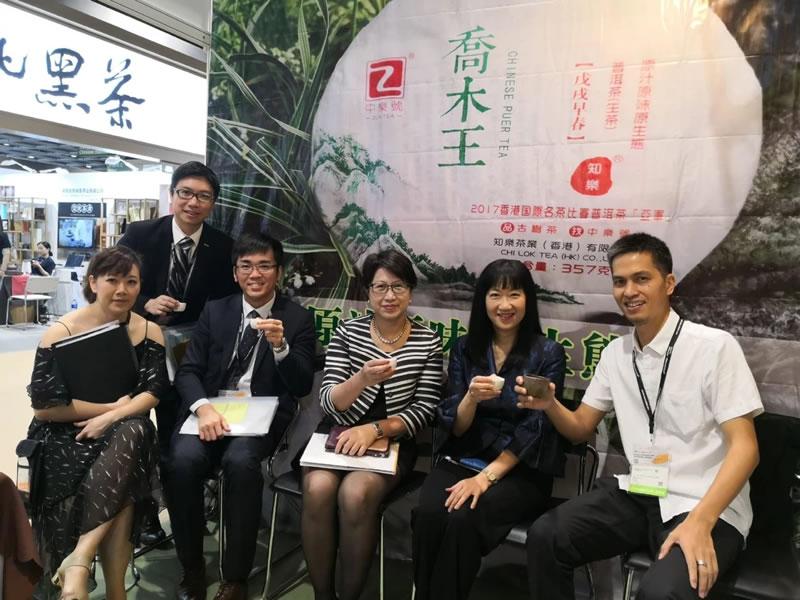 香港贸发局方总裁也是爱茶之人,特别钟情于古树<a href=https://86tea.hk target=_blank class=infotextkey>普洱茶</a>,又鼓励又支持!